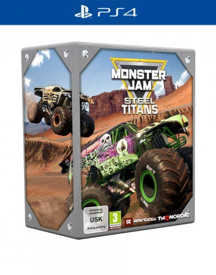Monster Jam Steel Titans Collectors Edition (deutsch) (AT PEGI) (PS4) inkl. Gold Grave Digger