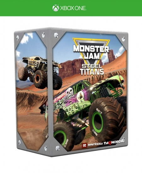 Monster Jam Steel Titans Collectors Edition (deutsch) (AT PEGI) (XBOX ONE) inkl. Gold Grave Digger