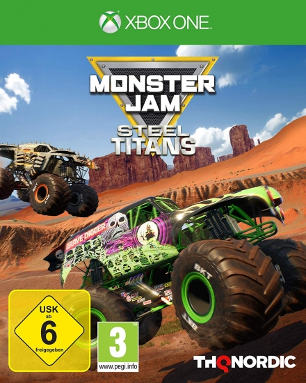 Monster Jam Steel Titans (deutsch) (AT PEGI) (XBOX ONE) inkl. Gold Grave Digger