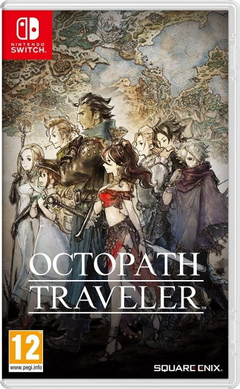 Octopath Traveler (deutsch) (AT PEGI) (Nintendo Switch) [Verpackungsschaden]