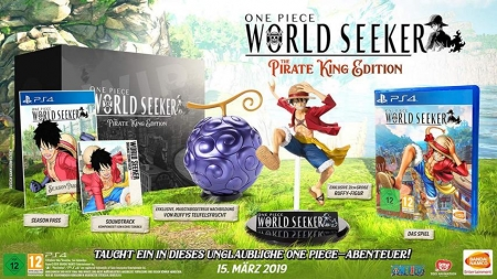 One Piece World Seeker The Pirate King Collector's Edition (deutsch) (AT PEGI) (PS4)