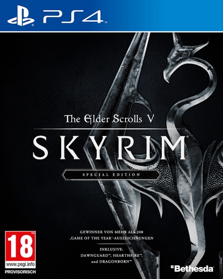 The Elder Scrolls V Skyrim Special Edition (deutsch) (AT PEGI) (PS4) inkl. Addons