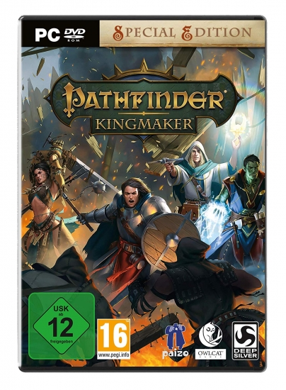 Pathfinder Kingmaker Special Edition (deutsch) (AT PEGI) (PC DVD)