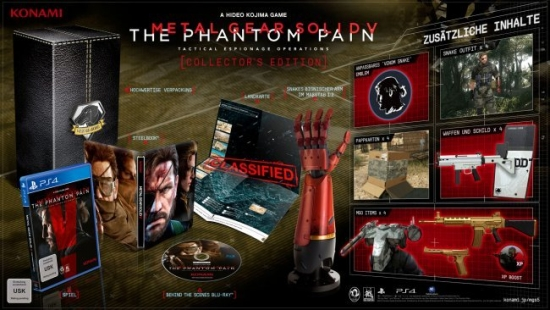 Metal Gear Solid V: The Phantom Pain - Collector's Edition [uncut] (deutsch) (DE) (PS4)