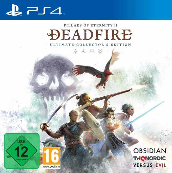 Pillars of Eternity II Deadfire Ultimate Collector's Edition (deutsch) (AT PEGI) (PS4)