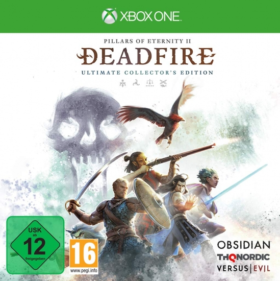 Pillars of Eternity II Deadfire Ultimate Collector's Edition (deutsch) (AT PEGI) (XBOX ONE)