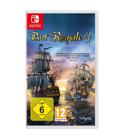 Port Royale 4 (deutsch) (AT PEGI) (Nintendo Switch)
