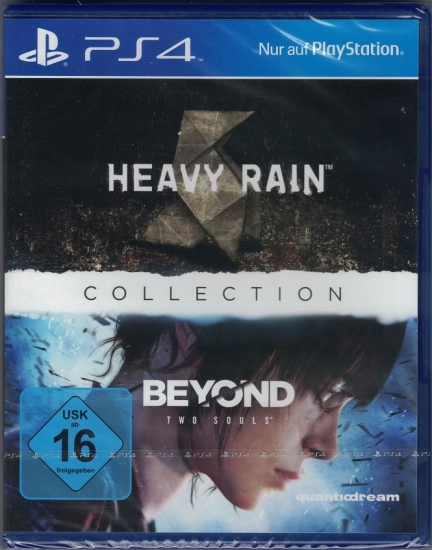 Quantic Dream Collection (Heavy Rain & Beyond Two Souls) [uncut] (deutsch) (DE) (PS4)