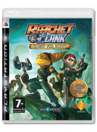 Ratchet & Clank - Quest for Booty (englisch) (PS3)
