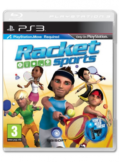 Racket Sports (englisch) (Move) (PS3)