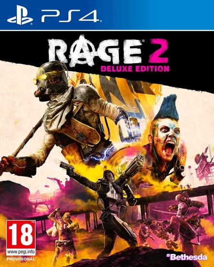 Rage 2 Deluxe Edition [uncut] (deutsch) (AT PEGI) (PS4)