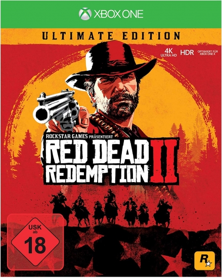 Red Dead Redemption 2 - Ultimate Steelbook Edition [uncut] (deutsch) (DE) (XBOX ONE) inkl. 27 DLCs