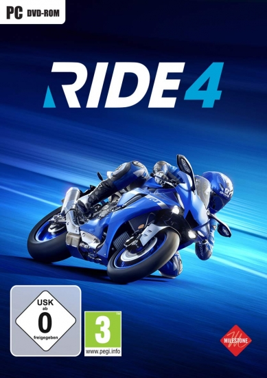 RIDE 4 (deutsch) (AT PEGI) (PC DVD) inkl. European Bikes Pack