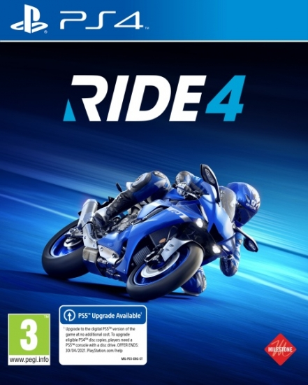 RIDE 4 (deutsch) (AT PEGI) (PS4) inkl. European Bikes Pack