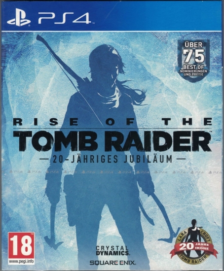 Rise of the Tomb Raider 20 Year Celebration D1 Edition [uncut] (deutsch) (AT PEGI) (PS4)