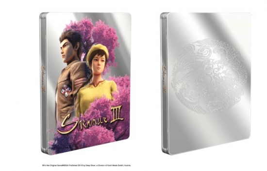 Shenmue 3 Steelbook G2 (PS4)