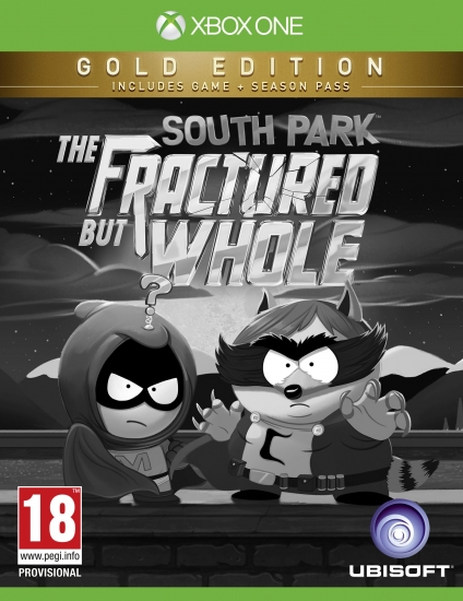 South Park The Fractured But Whole - Gold Edition (deutsch) (AT PEGI) (XBOX ONE) inkl. Season Pass / South Park Stab der Wahrheit / Towelie