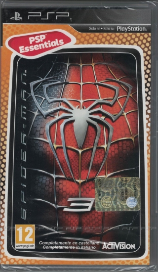 Spiderman Movie 3 (deutsch) (EU PEGI) (PSP)