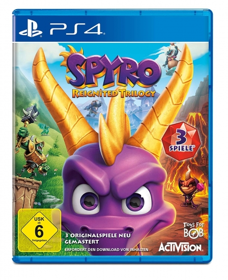 Spyro Reignited Trilogy (deutsch) (DE) (PS4)