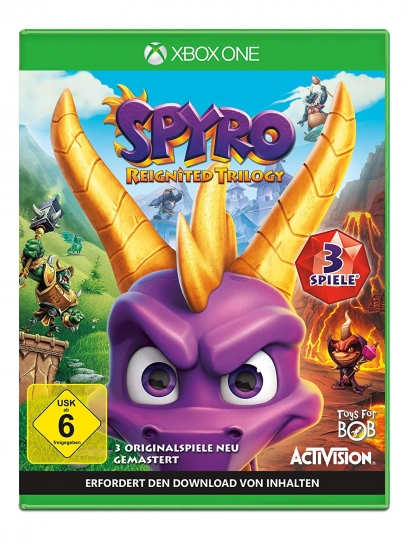 Spyro Reignited Trilogy (deutsch) (DE) (XBOX ONE)
