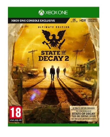 State of Decay 2 Ultimate Edition [uncut] (deutsch) (AT PEGI) (XBOX ONE) inkl. Frühstart / 2 DLCs / State of Decay Year One Survival Edition / Survival Pack