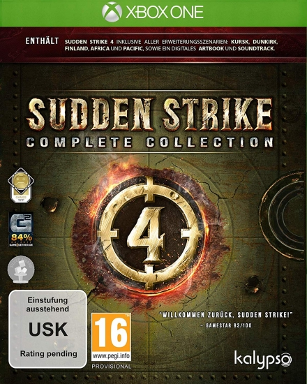 Sudden Strike 4 Complete Collection (deutsch) (AT PEGI) (XBOX ONE)