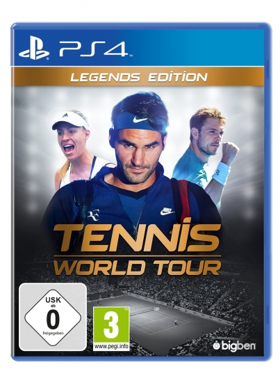 Tennis World Tour Legends Edition (deutsch) (DE) (PS4) inkl. 9 DLCs