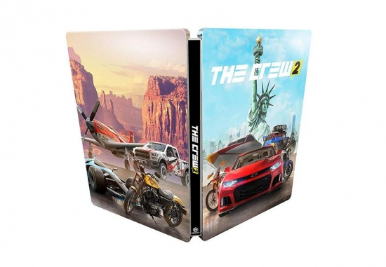 The Crew 2 Steelbook G2 (PC/PS4/XBOX ONE)