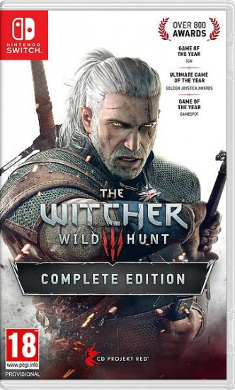 The Witcher 3 Wild Hunt Complete Edition (deutsch) (AT PEGI) (Nintendo Switch)