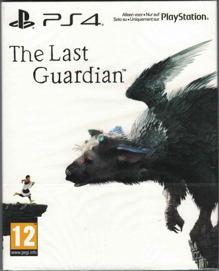 The Last Guardian - Special Steelbook Edition (deutsch) (AT PEGI) (PS4)