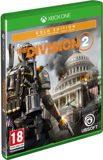 The Division 2 Gold Edition [uncut] (deutsch) (AT PEGI) (XBOX ONE) inkl. Kapitol Verteidiger-Paket