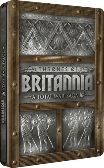 Total War Saga Königreiche Britanniens Steelbook Edition (deutsch) (AT PEGI) (PC DVD)