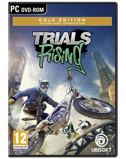 Trials Rising Gold Edition (deutsch) (AT PEGI) (PC DVD) inkl. 2 Outfits
