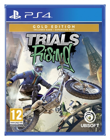 Trials Rising Gold Edition (deutsch) (AT PEGI) (PS4) inkl. 2 Outfits