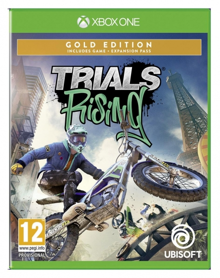 Trials Rising Gold Edition (deutsch) (AT PEGI) (XBOX ONE) inkl. 2 Outfits