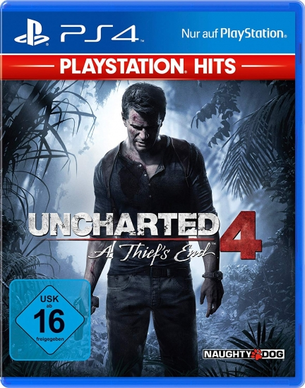 Uncharted 4 A Thiefs End [Playstation Hits] [uncut] (deutsch) (DE) (PS4)
