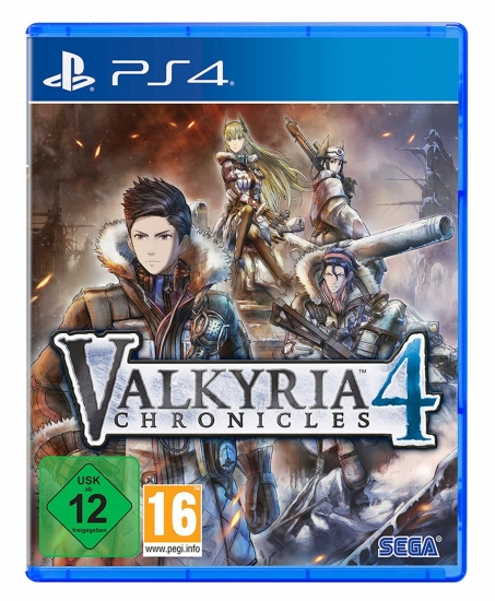 Valkyria Chronicles 4 (deutsch) (AT PEGI) (PS4)