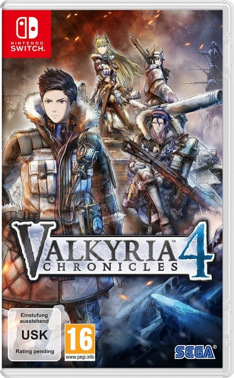 Valkyria Chronicles 4 (deutsch) (AT PEGI) (Nintendo Switch)