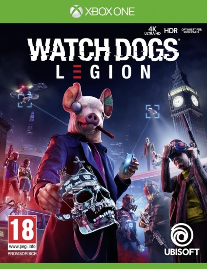 Watch Dogs Legion [uncut] (deutsch) (AT PEGI) (XBOX ONE / XBOX Series X) inkl. Golden King-Paket