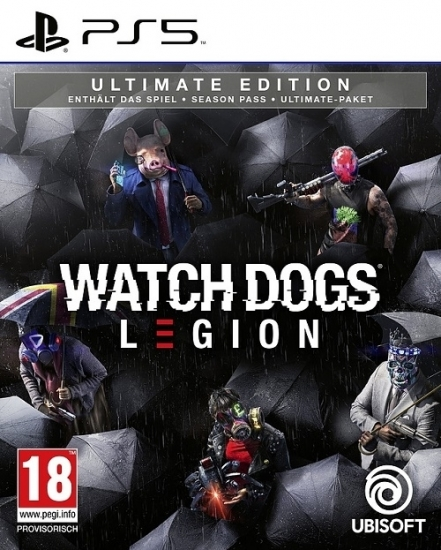 Watch Dogs Legion Ultimate Edition [uncut] (deutsch) (AT PEGI) (PS5) inkl. Season Pass / Ultimate Pack / Golden King-Paket