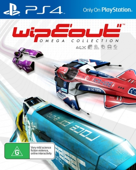 Wipeout Omega Collection (deutsch) (EU PEGI) (PS4)