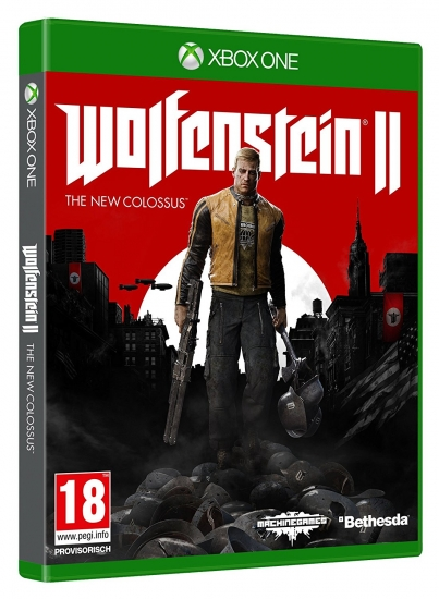 Wolfenstein 2 The New Colossus - D1 Edition (deutsch) (AT PEGI) (XBOX ONE)