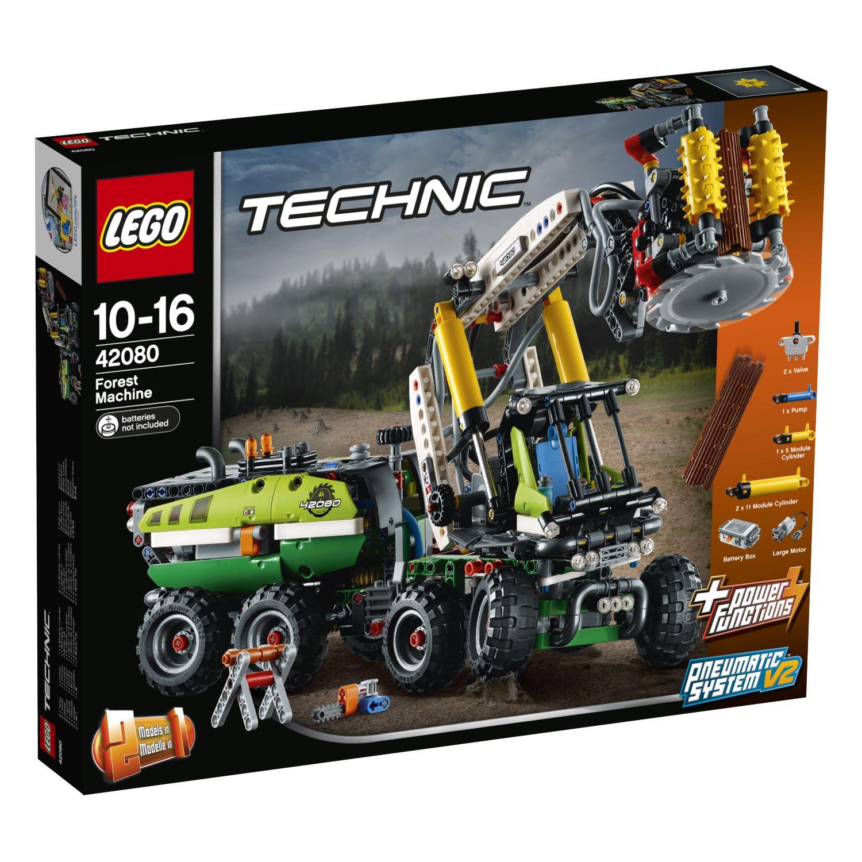 lego technic 42080 harvester forstmaschine neu. Black Bedroom Furniture Sets. Home Design Ideas