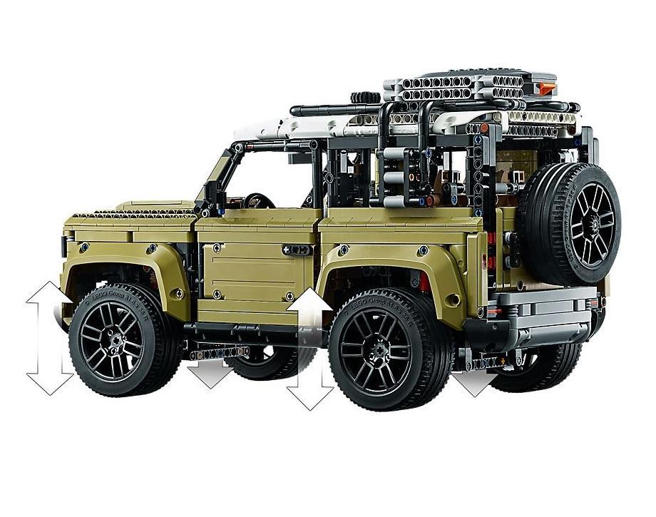 lego technic 42110 land rover defender neu. Black Bedroom Furniture Sets. Home Design Ideas
