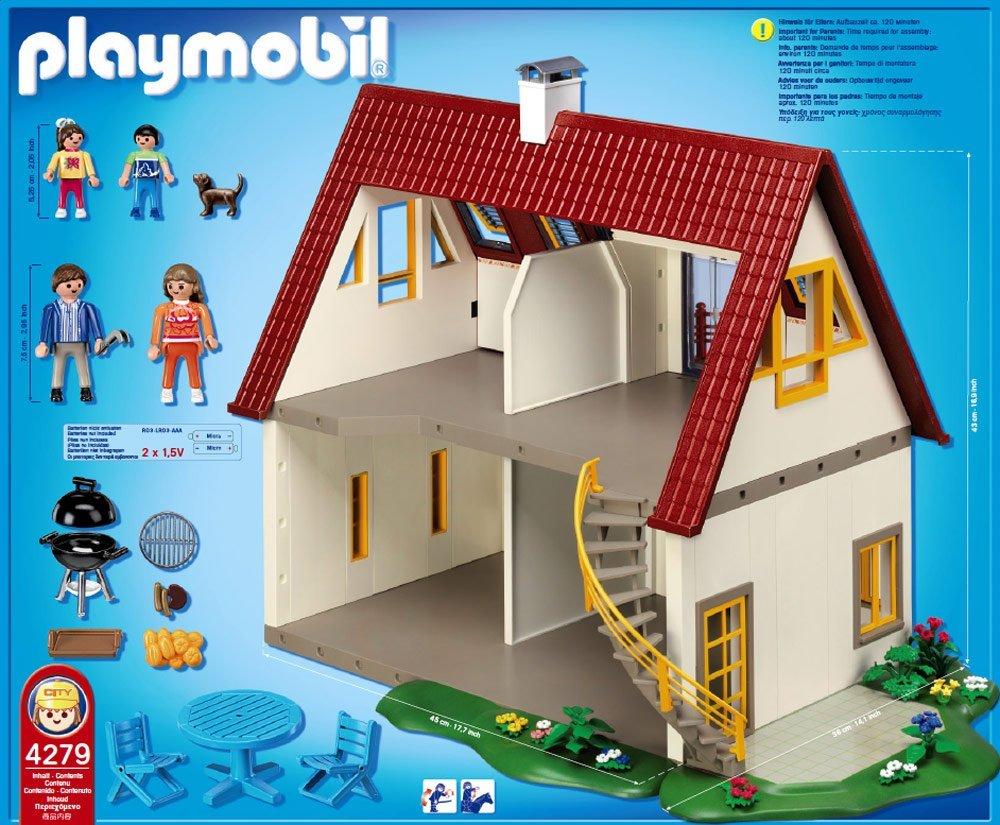 playmobil 4279 neues wohnhaus neu. Black Bedroom Furniture Sets. Home Design Ideas
