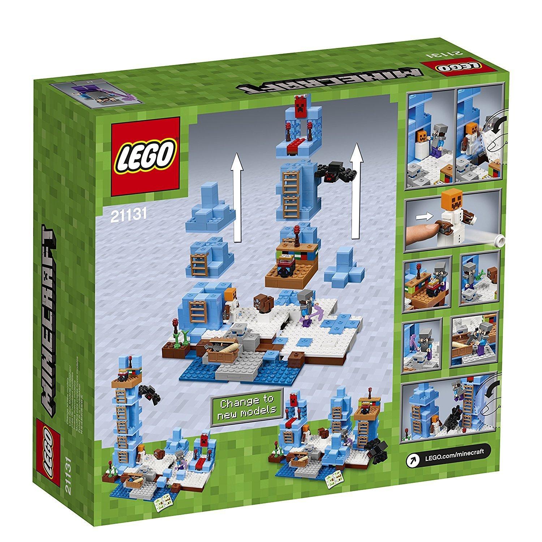 Lego 21131 Minecraft Trme Aus Eis Neu 21124 The End Portal