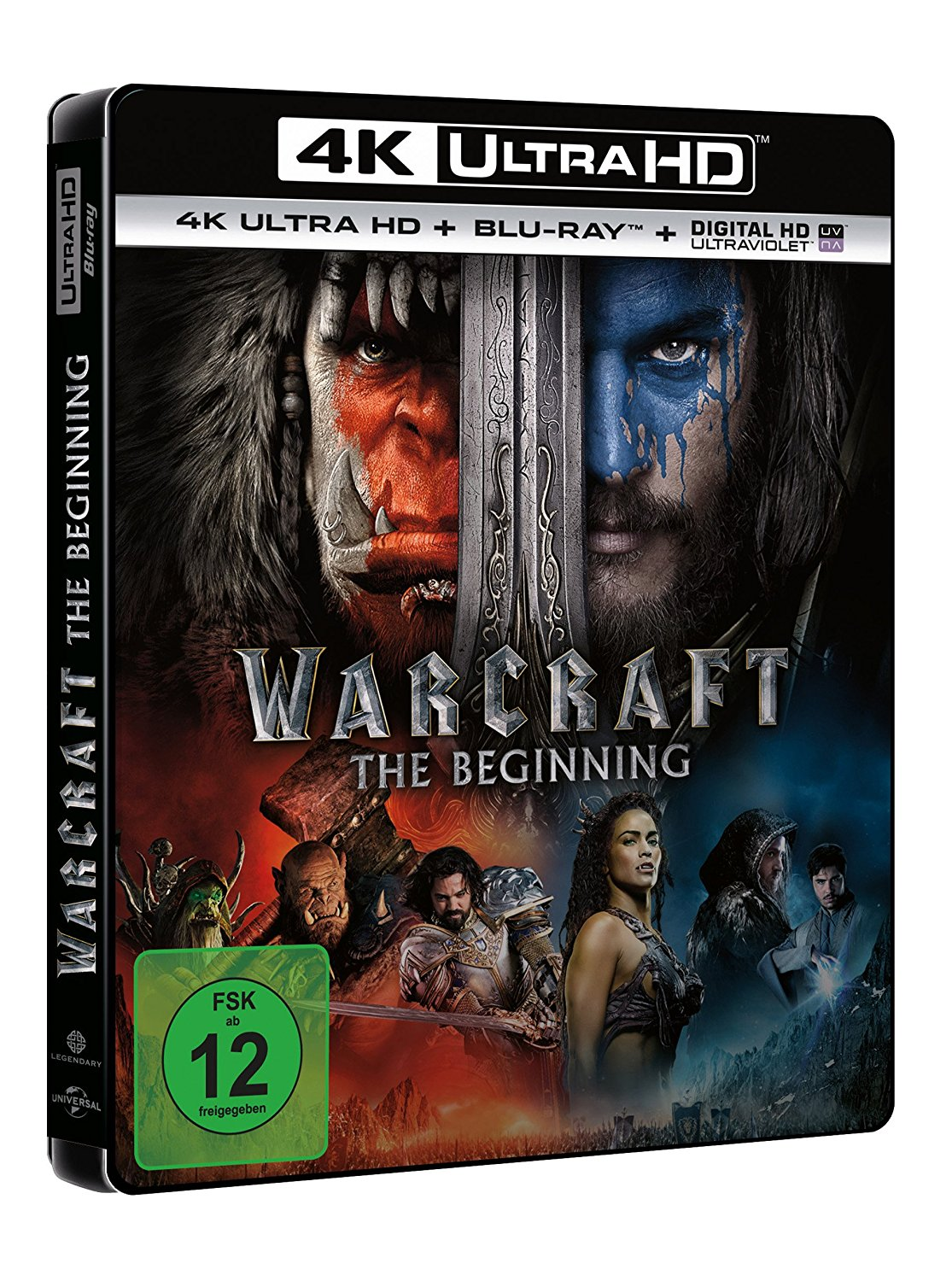 warcraft the beginning uhd 4k ultra hd blu ray. Black Bedroom Furniture Sets. Home Design Ideas