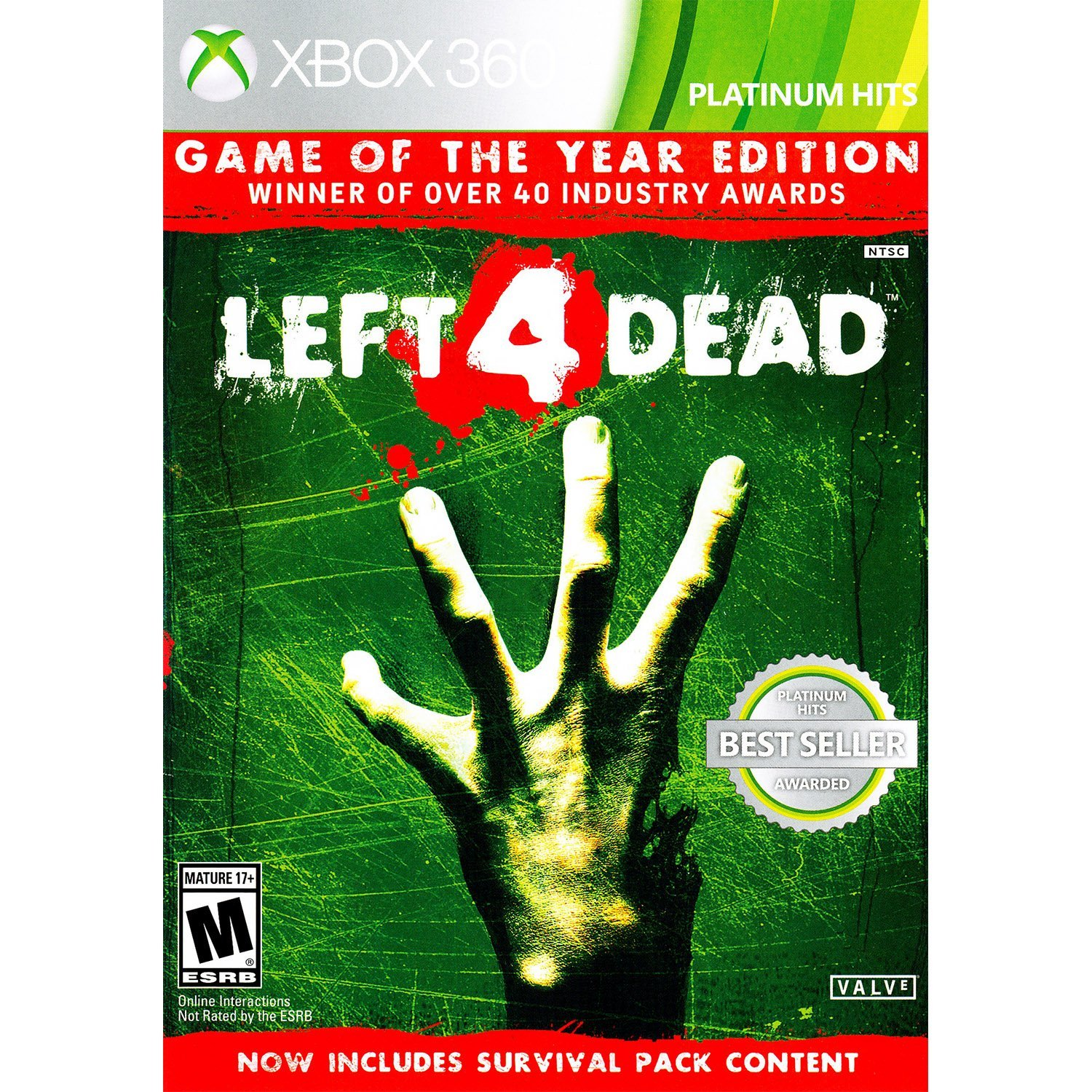 left 4 dead game of the year edition platinum hits. Black Bedroom Furniture Sets. Home Design Ideas
