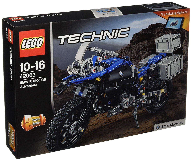lego 42063 technic bmw r 1200 gs adventure neu. Black Bedroom Furniture Sets. Home Design Ideas