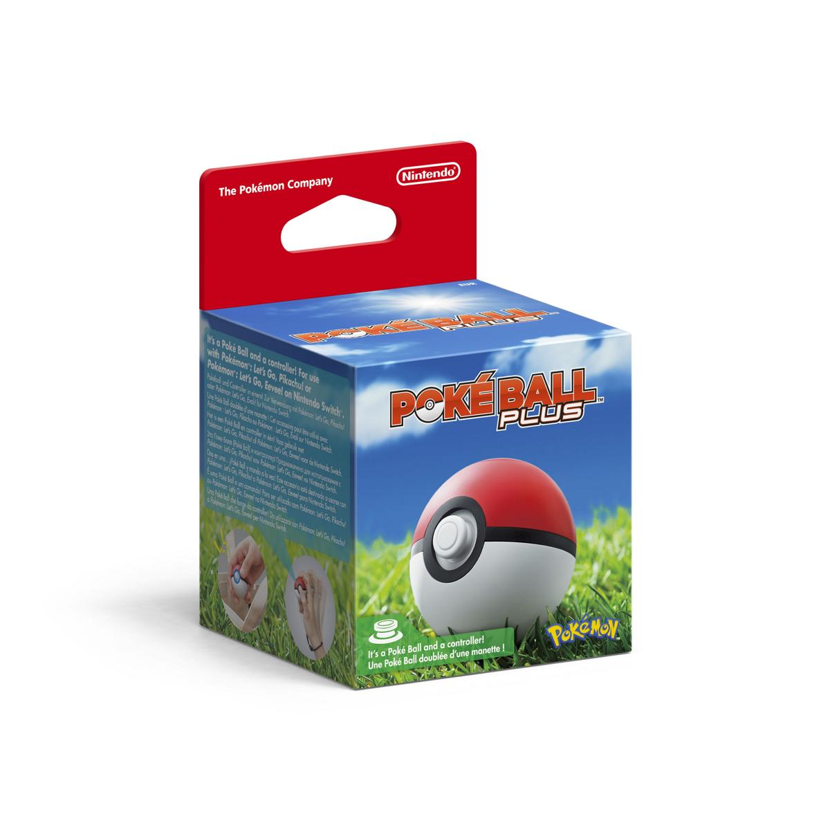 Pokemon Pokeball Plus Nintendo Switch